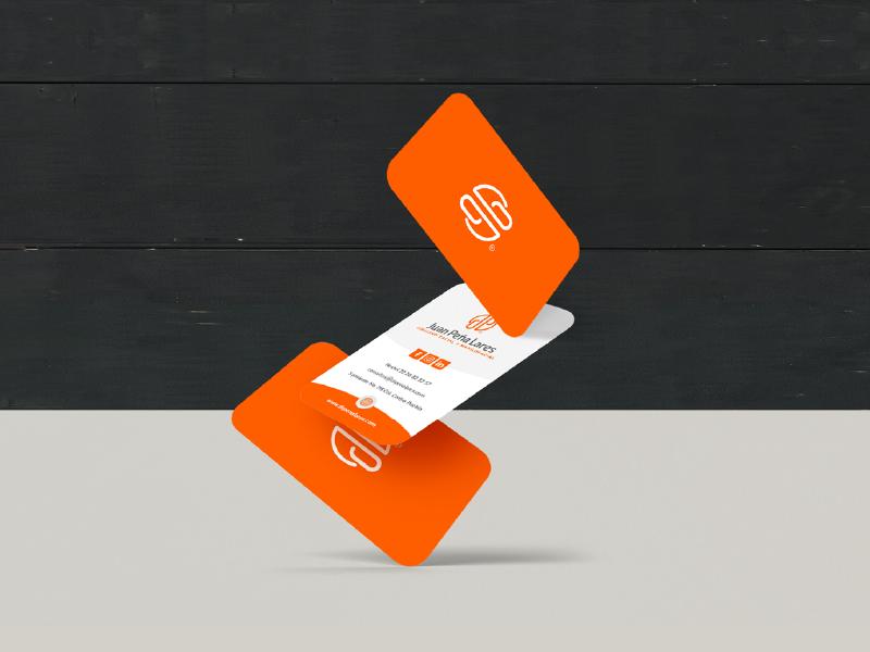 Juan Peña Lares business card card logotype identity logo mark design brand print branding brand identity