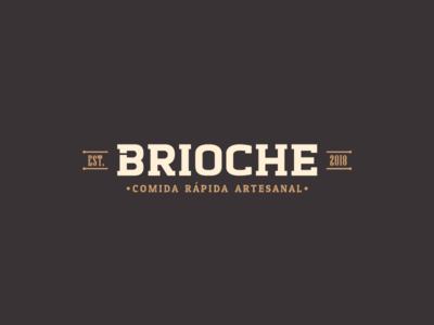 Brioche - Comida rápida artesanal mark typography identity logotype inspiration design brand identity logo brand branding design branding logo mark design