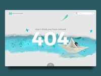 Daily UI 006 404 Page