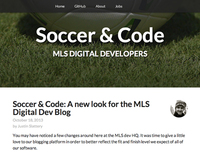 MLS Digital Dev Blog