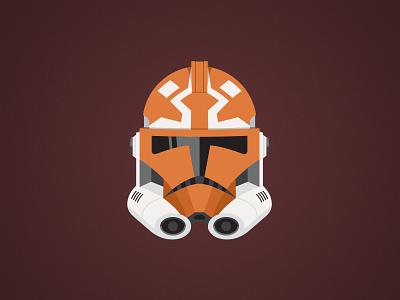 332nd Clone Division Illustration vector ahsoka tano ahsoka star wars lucasfilm logo illustration design disney character clone wars clone trooper trooper clone