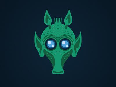Bolla Ropal Illustration lucasfilm logo disney design character alien jedi bolla ropal greedo rodian clone wars star wars