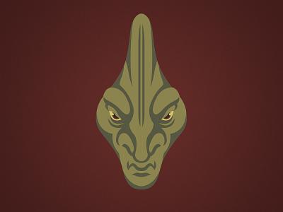 Coleman Trebor Illustration trebor coleman logo lucasfilm disney design character alien jedi clone wars star wars