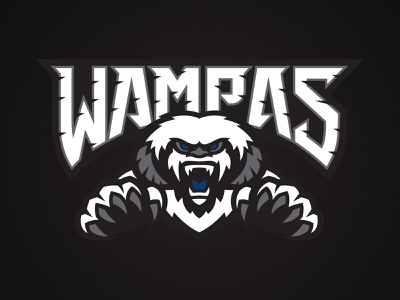 Wampas branding logo vector illustration hoth disney lucasfilm monster wampa empire strikes back empire star wars