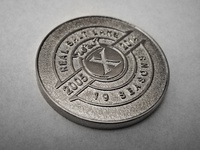 Real Salt Lake 10th Season Coin