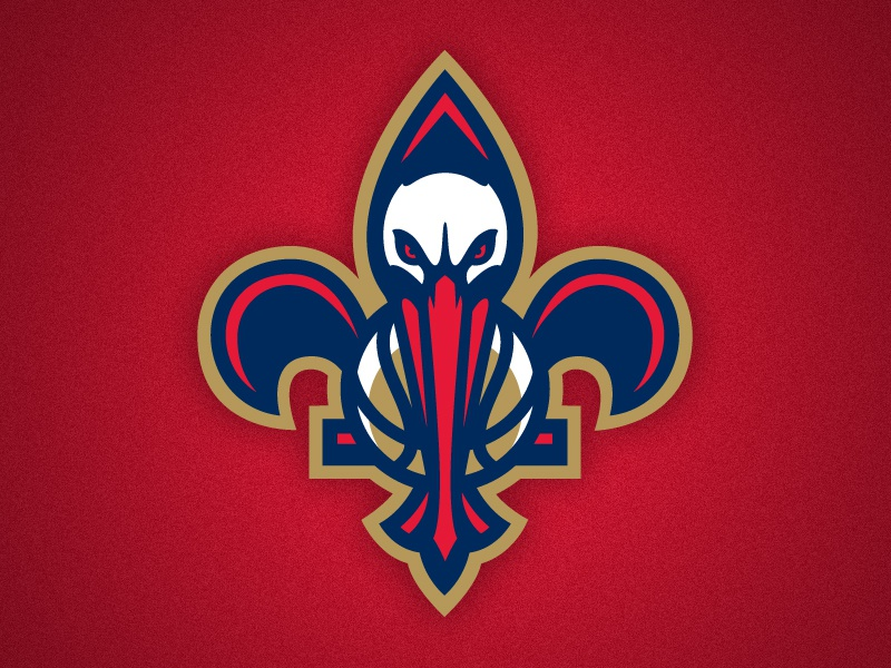 New Orleans Pelicans Secondary Logo By Ben Barnes On Dribbble
