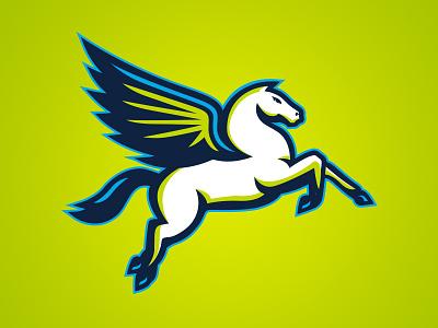 Dallas Wings Secondary wnba wings texas pegasus logo horse dallas basketball