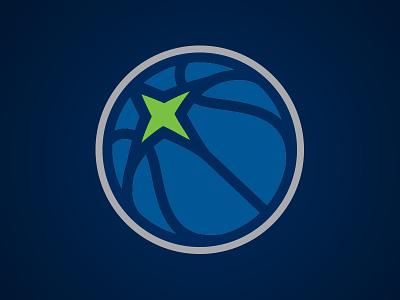 Minnesota Timberwolves Secondary wolf timberwolves north star nba minnesota logo circle basketball athletics