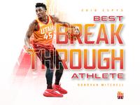 Donovan Mitchell: Best Breakthrough Athlete