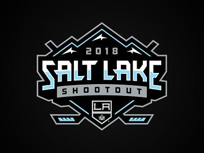 Salt Lake Shootout mountains athletics ice canucks kings nhl logo hockey shootout salt lake