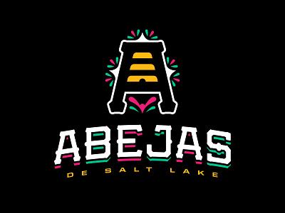 Las Abejas de Salt Lake abejas sports minor league utah beehive salt lake bees baseball logo