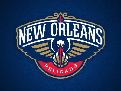 New Orleans Pelicans logo basketball new orleans pelicans nba bird wings fleur-de-lis athletics