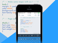 Nutoid - Code editing app