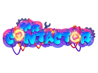 Mr Contacrot game logo logo illustration icon game ui game design game art game design concept art concept chatacters 2d art