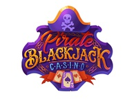 Pirate Blackjack casino game logo
