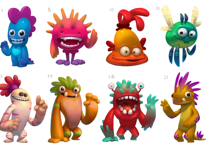 Monster Character Concepts