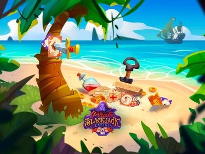 Pirate blackjack casino promo