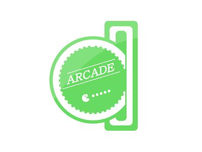 Retro Arcade Logo illustrator rebound weekly warmup retro arcade logo arcade logo logo arcade retro arcade