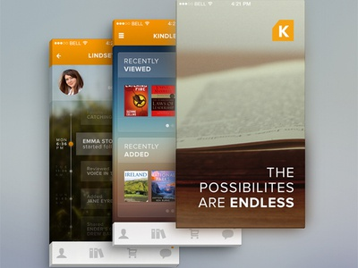 Kindle Redesign WIP
