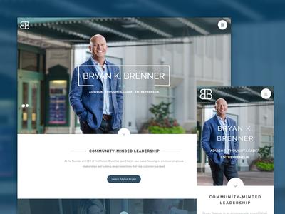 Bryan Brenner Personal Website indianapolis leader personal business blue public figure entrepreneur