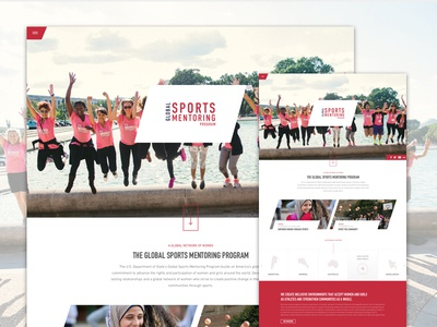 Global Sports Mentoring Program program community mentoring women initiative non-profit government empowerment sports global