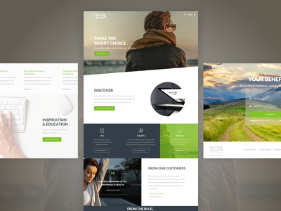 Go Live Smart Website Design & Development hr professional benefits wellness healthy living web design