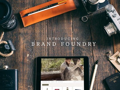Brand Foundry Preview earthy brown 2017 edgy venture capital vc brand