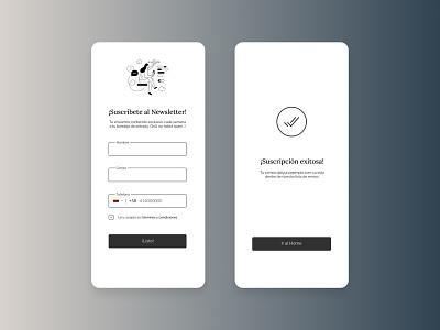 Daily UI 001: Sign up venezuela apps design minimal ui inspiration dailyui figma app app design