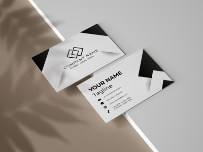 Black and white Business card business blue ai fie business card mockups psd design identitydesign idcard branding professional unique white black clean templatedesign brand identity businesscard