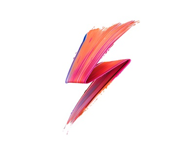 David Bowie - Ziggy Stardust painted texture abstract symbol logo icon davidbowie colorful color paint painting graphic