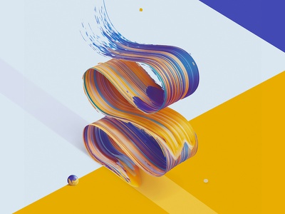 Atypical SS experiment typography type lettering letter abstract colour colorful colors color painting paint
