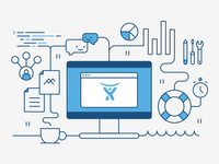 Atlassian (allthethings) illustration