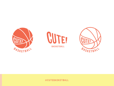 New cutebasketball logo