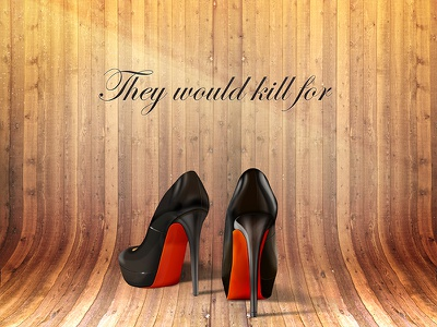 High Heels high heels heels shoe shoes wood lighting shadow photoshop illustration icon wip