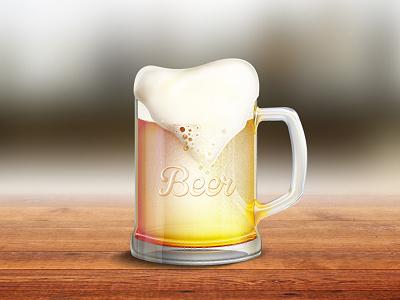 Beer beer glass foam pint bar