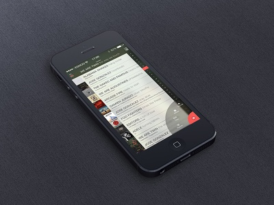 Music Player music audio player list gui ui songs mobile flat