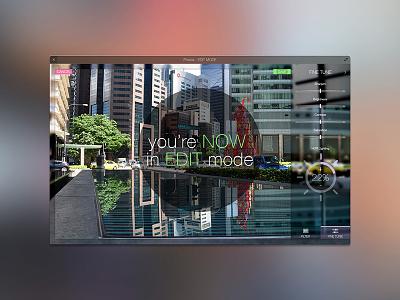 Photo App photo edit gui ui flat slider button icon app desktop