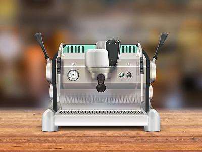 Espresso Machine wood metal reflection steel stainless steel coffee machine espresso