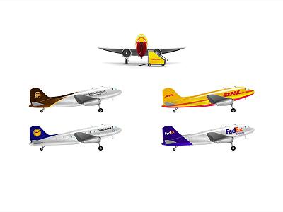 Airplanes plane airplane illustration photoshop icon wip workinprogress transportation transportaion