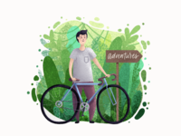 Adventures illustration