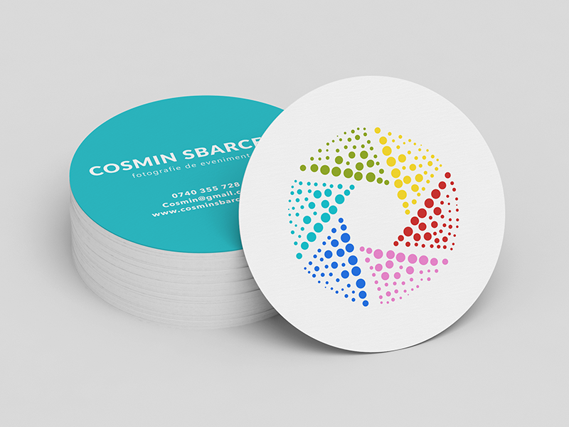 Logo And Business Card Concept For Photographer by Alessandra ...