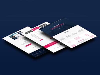 Multiple page Website Design