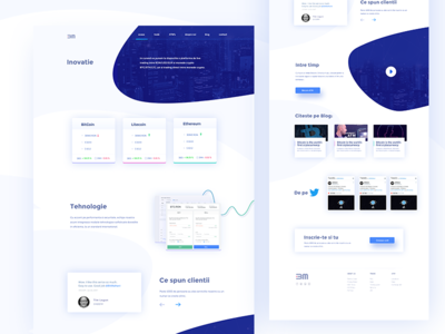 Bit Mahavi Cryptocurrency platform Landing Page