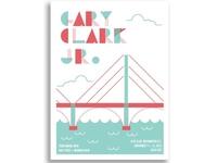 Gary Clark Jr. Gigposter