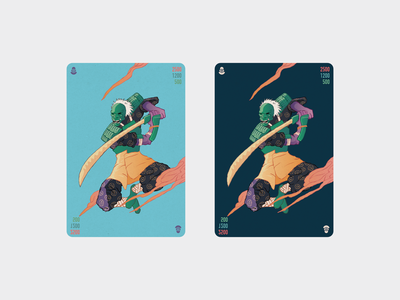 Shinobi card - card game
