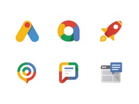 Google Adwords Product Icons