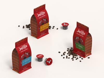 Javamoose Coffee packagedesign kcup pods coffee beans javamoose coffee