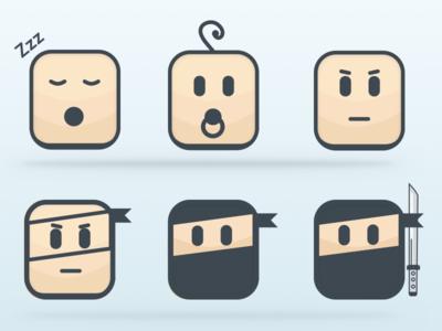 Pitzi Ninja icons icons corporate ninja