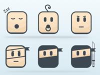 Pitzi Ninja icons