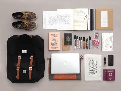 Essentials essentials things organized neatly